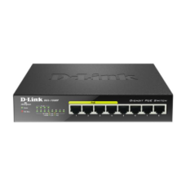 DGS-1008P 8 PORT POE SWITCH